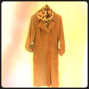 JCREW corduroy fully lined coat